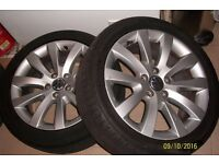 """17"""" VW Scirocco alloys with 225/45/17 premium tyres"""