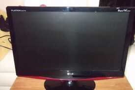 TV New 22 inch LG M227W TV , can be used as computer monitor ,remote ,Freeview