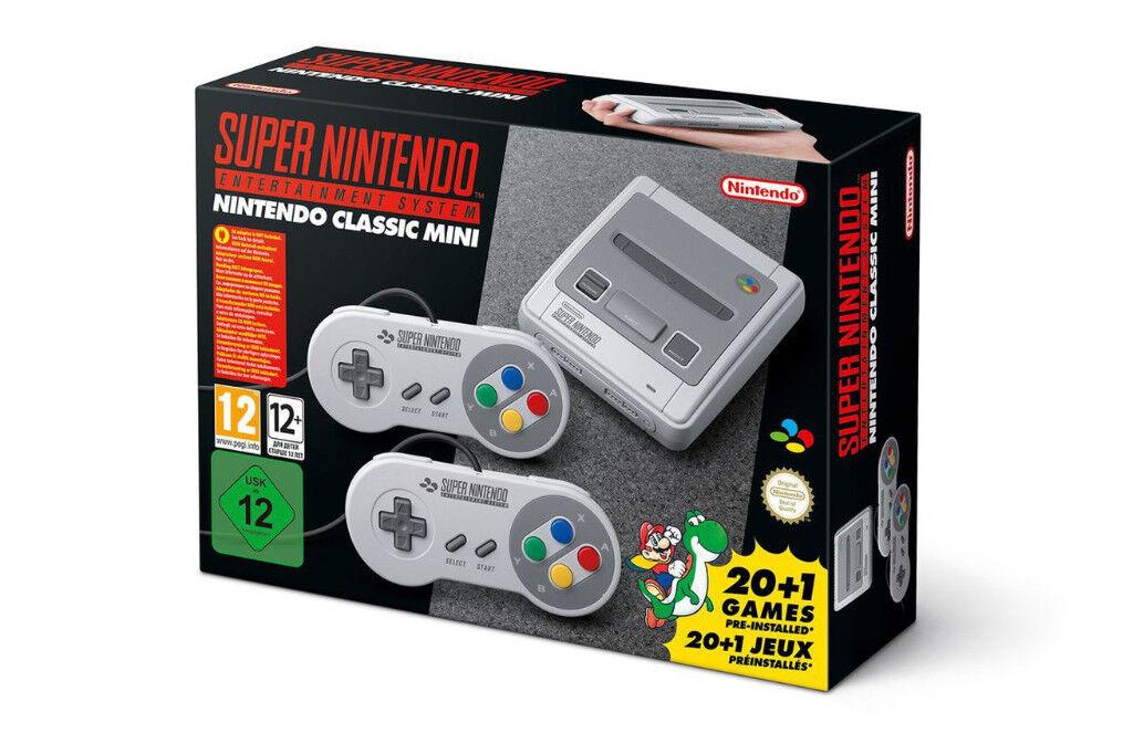 SNES Mini - Nintendo Classic Mini: Super Nintendo Entertainment System - Brand New & Sealed