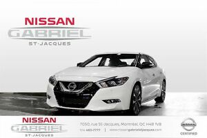 2016 Nissan Maxima SR NAVIGATION  CUIR BAS KILOMÉTRAGE
