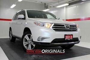 2013 Toyota Highlander Limited 4WD Heated Lthr Nav Sunroof Btoot