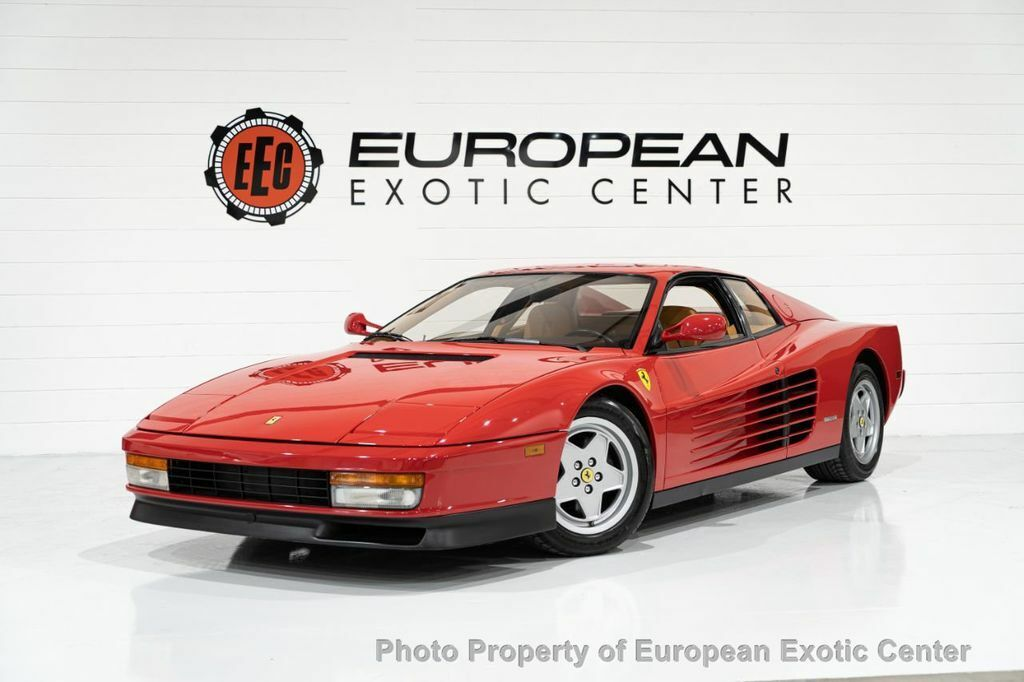 1990 Ferrari Testarossa, Red with 27827 Miles available now!