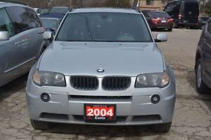 2004 BMW X3 3.0i/AS-IS