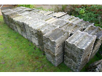 Reclaimed Redland '50' Double Roman Roof Tiles, 1960s Vintage