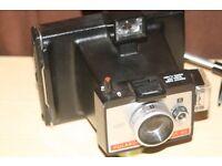 Job Lot Vintage Retro Polaroid 4 Cameras