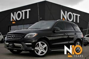 2015 Mercedes-Benz M-Class Bluetec 4Matic LOADED Premium Pkg AMG