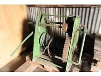Large industrial factory boat vehicle manual winch with 3 gears