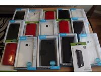 Joblot/Wholesale x15 Leather/Flip Phone Covers for iPhone, Samsung, Moto *BRAND NEW*