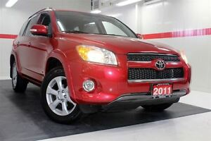 2011 Toyota RAV4 Limited 4WD SUNROOF ALLOY WHEELS