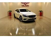 MERCEDES-BENZ A CLASS 1.5 A180 CDI BLUEEFFICIENCY SPORT 5d AUTO 109 BHP (white) 2014