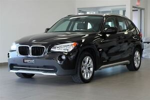2012 BMW X1 28i AWD CUIR/TOIT PANO/MAGS