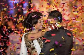 Asian Wedding Confetti Cannon HIRE From £85