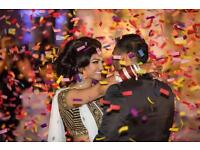 Asian Wedding Confetti Cannon HIRE From £85