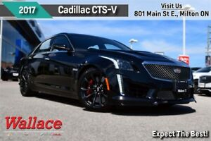 2017 Cadillac CTS-V EXEC. DEMO/640HP V8/SUNROOF/BREMBOS/PDR/htd