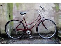 RALEIGH CHILTERN. 21 inch, 54 cm. Vintage ladies womens dutch style traditional road bike, 3 speed