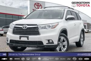 2014 Toyota Highlander LIMITED ALL WHEEL DRIVE, LEATHER INTERIOR