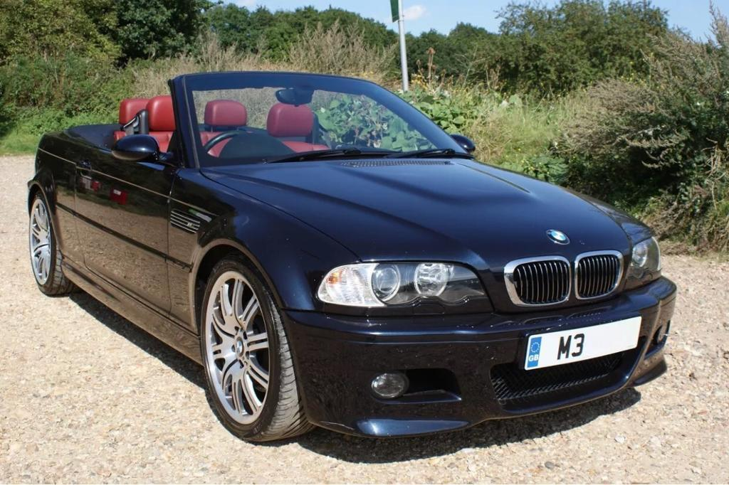 05 Bmw M3 Convertible E46 Smg Immaculate Inside And Out Hardtop Red Na Leather Bargain