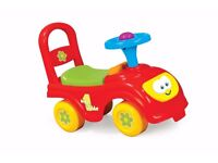 Wanted ride on push along car or baby toddler bike