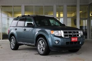 2012 Ford Escape XLT FWD 3.0L V6 201A Package with low kms