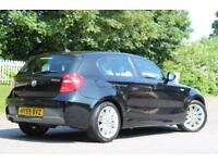 BMW 1 SERIES 2.0 118D M SPORT 5d 141 BHP 5 STAR AWARD WINNING DEALER (black) 2010