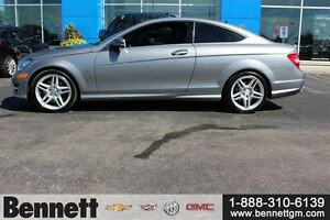 2012 Mercedes-Benz C-Class C350 -Loaded Coupe, Nav + Sunroof Kitchener / Waterloo Kitchener Area image 6