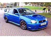 Subaru Impreza WRX STI DCCD Widetrack Type UK 350 BHP Rota Alloys