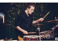 Experienced drummer is ready for a contract