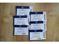 6 Seated Tickets for Drake at O2 Arena (The Boy Meets World Tour)