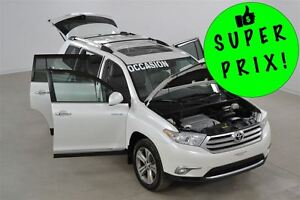 2011 Toyota Highlander Limited V6 AWD Un Seul Proprio Impeccable