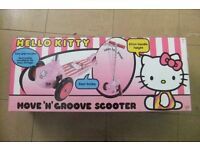 Hello Kitty Scooter/ tri scooter