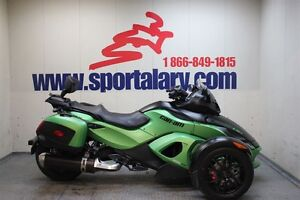 2012 can-am Spyder RS SM5 -