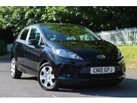 FORD FIESTA 1.2 STYLE PLUS 5d 81 BHP NEW FRONT BADGE ON ORDER (black) 2011