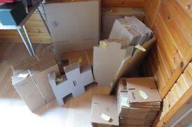 300++ Brand NEW corrugated boxes for eBay seller/online trader