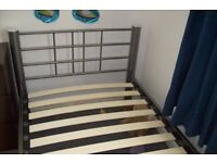 Single bed and mattres