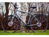 "Norco Indie 2 Hybrid Bike, 22"" Frame, 27 Speeds, Hydraulic disc brakes, Mudguards, Pannier rack"