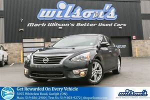 2014 Nissan Altima 3.5 SL LEATHER! NAVIGATION! SUNROOF! HEATED S