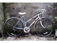 RALEIGH RIVA, vintage racer racing road bike, 20 inch, 5 speed