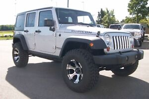 2012 Jeep WRANGLER UNLIMITED Rubicon LOADED LIFTED on 35s