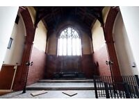 Cool Private Church Film / Photography Location Manchester £215 for the day