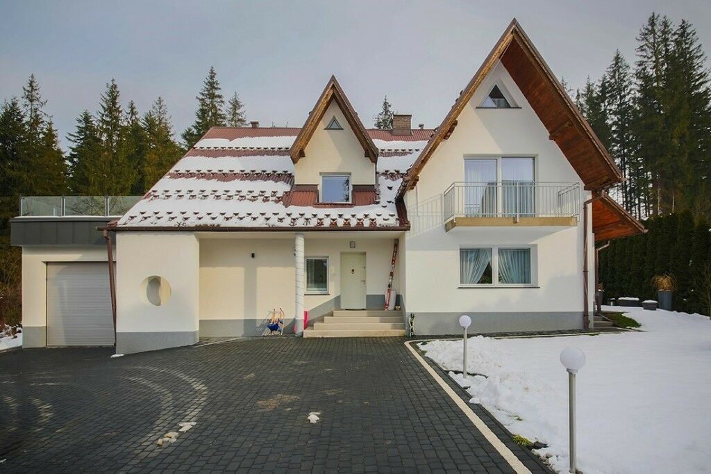 ski holiday in Poland in Zakopane beautifull mountain city in house for 15 persons with sauna,