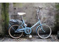 RALEIGH SOLITAIRE. Vintage shopper bike, 3 speed