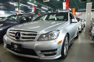 2013 Mercedes-Benz C-Class 300 4MATIC NAVIGATION LEATHER SUNROOF