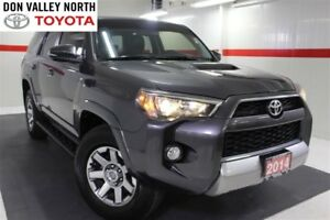 2014 Toyota 4Runner V6 4WD TRAIL EDITION Sunroof Nav Heated Lthe