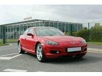 Mazda RX8 2007 192 PS Red/Black Leather