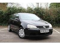 VOLKSWAGEN GOLF 2.0 S SDI 5dr **NEW CAM BELT AND SERVICE IN PRICE** (black) 2005