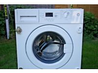 BEKO 7KG INTEGRATED WASHING MACHINE Ex Display comes with 6 month warranty