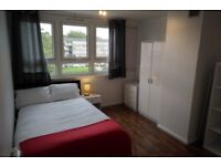 Superb, bright, recently refurbished four bedroom flat with large balcony in Kingston
