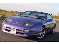 NISSAN 300ZX Z32 CONVERTIBLE BARN FIND KIT CAR PROJECT