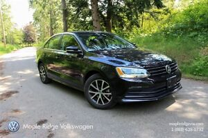 2015 Volkswagen Jetta COMFORTLINE 1.8T 6-SPEED AUTOMATIC LOW KM!