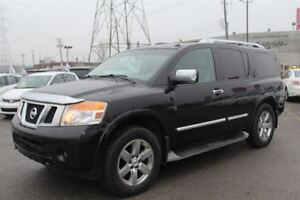 2010 Nissan Armada PLATINUM 4WD SUNROOF, LEATHER, GPS NAVI